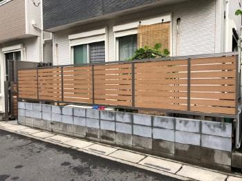 フェンスが新しくなり、様々な悩みも解消されました!