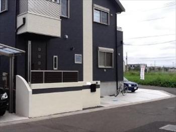家に合った門周りになり、頼んでよかったです。シンプルな雰囲気がお気に入りです。